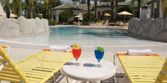 Vacation home for rent near Disney World - Main Pool