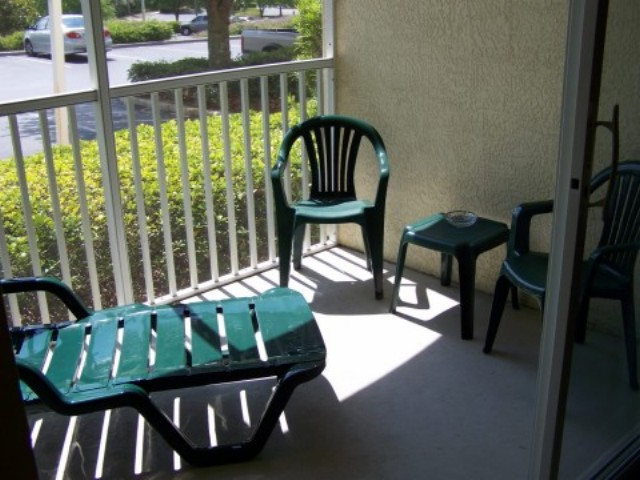 Vacation home for rent near Disney World - Screened Patio